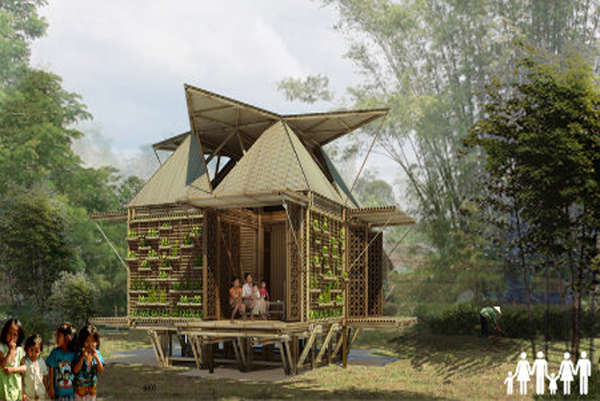 Floating Bamboo Abodes