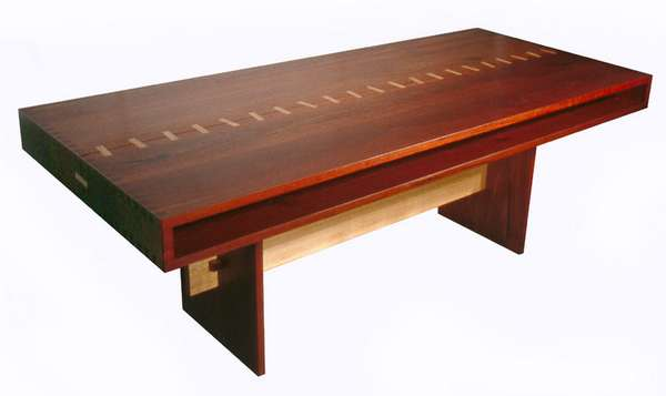 Exotic Wood Furniture The Box Table