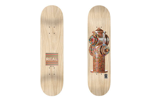 Artistic Mosaic Skateboards