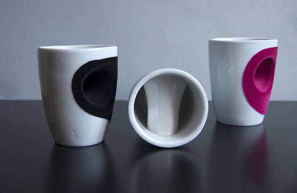 Lighthearted Holey Teacups
