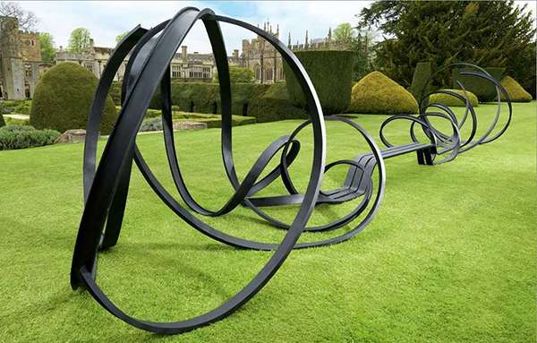 huge Sudeley Bench by Pablo Reinoso