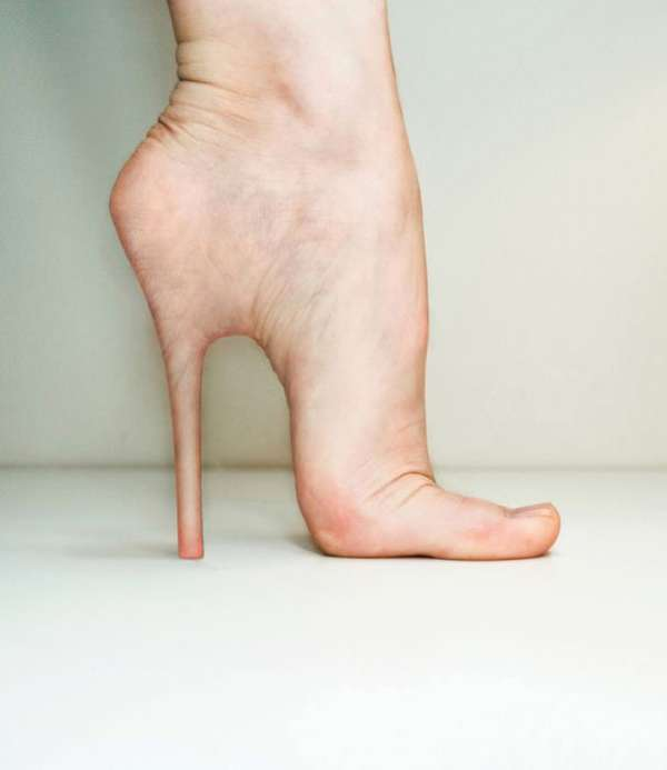 Human Body Stilettos