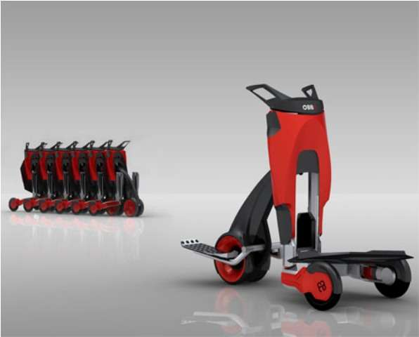 Rideable Luggage Carts