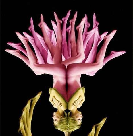 Surreal Humanistic Florals