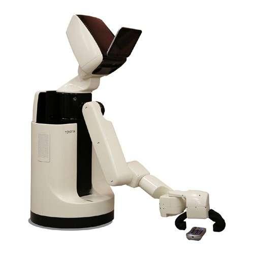 One-Armed Helper Bots