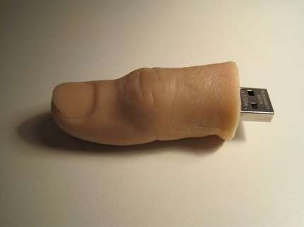 Finger Flash Drives