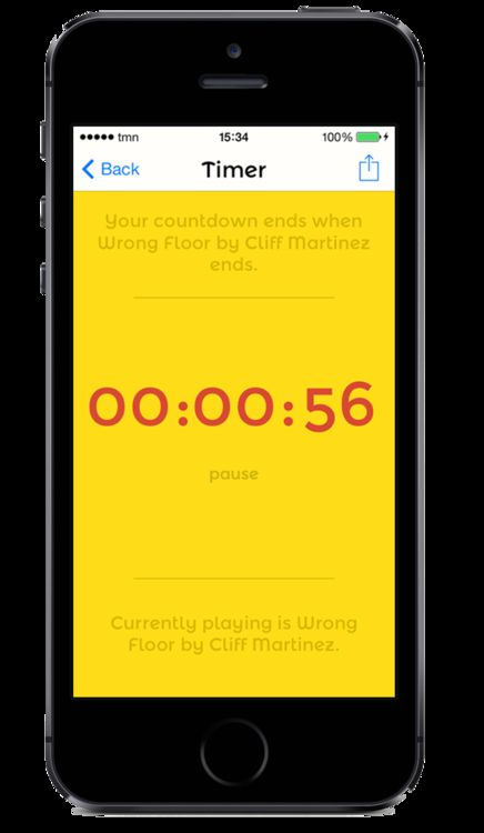 Humming Timing app