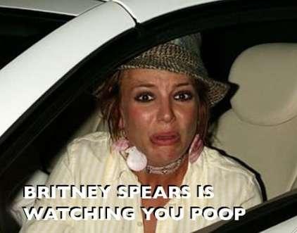 Celebrities Watching You Poop?
