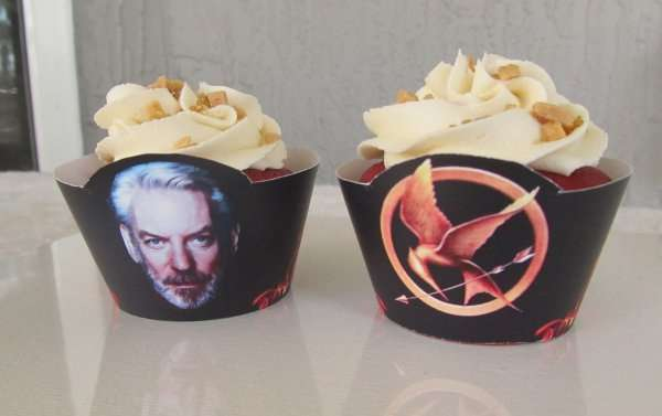 Hunger Games Cupcake Sleeves