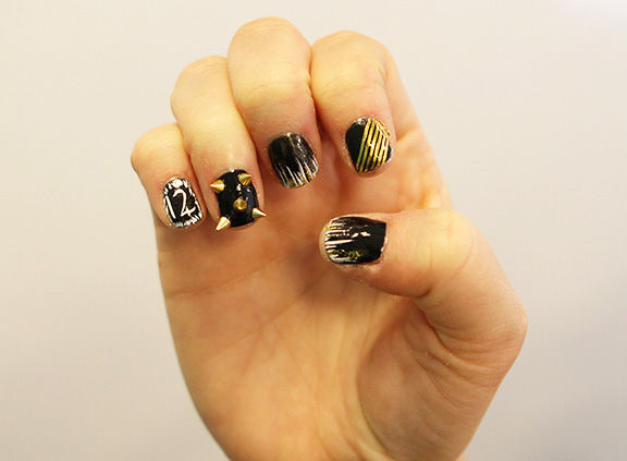 DIY Dystopian Film Manicures
