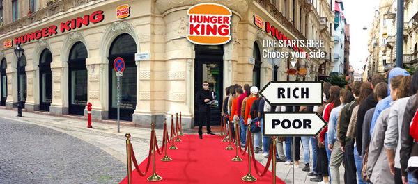 Inequality Fast Food Restaurants
