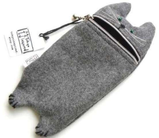 Hungry Cat Gadget Pouch