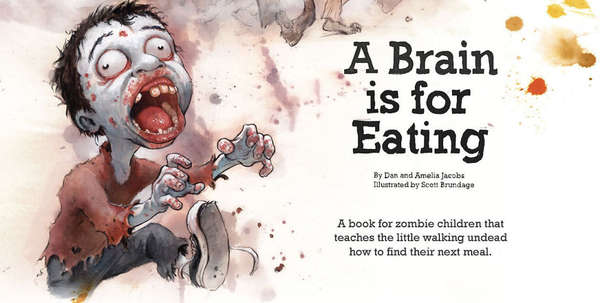 Zombified Childrens Books