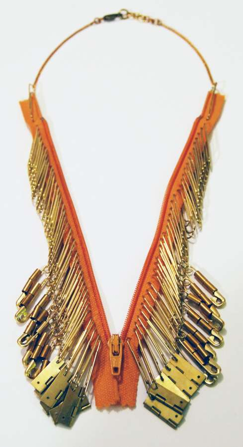 Hur Jewelry Zipper Necklace