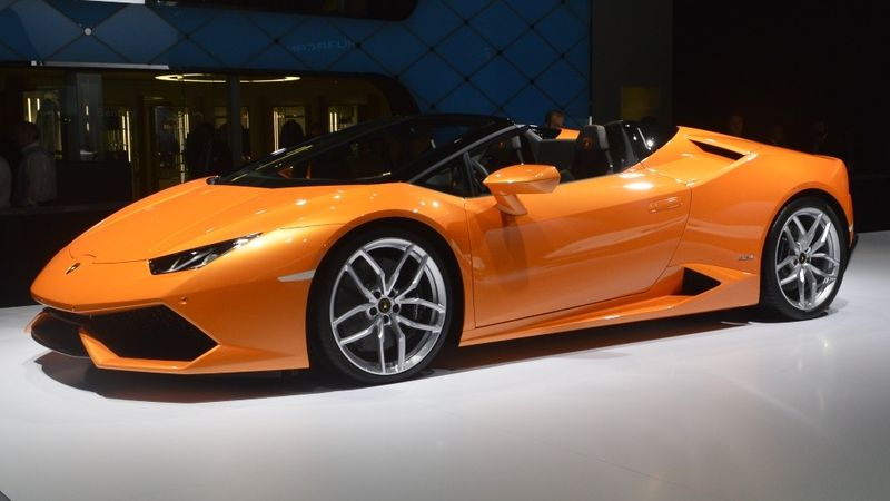Hurricane Inspired Cars Huracan Spyder