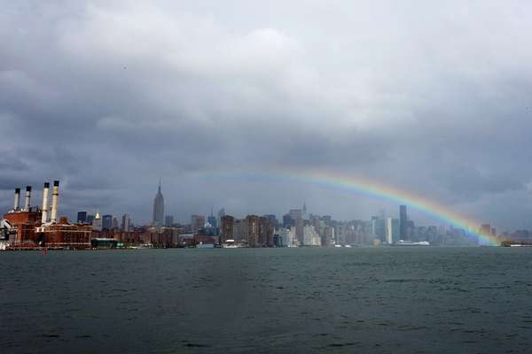 Hurricane Sandy Rainbow