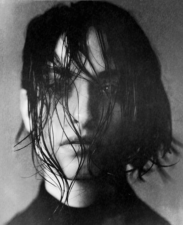 Gloomy Grayscale Portraits