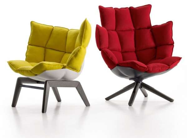 Amble Cushy Armchairs