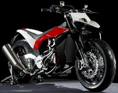 Elongated Motor Bikes
