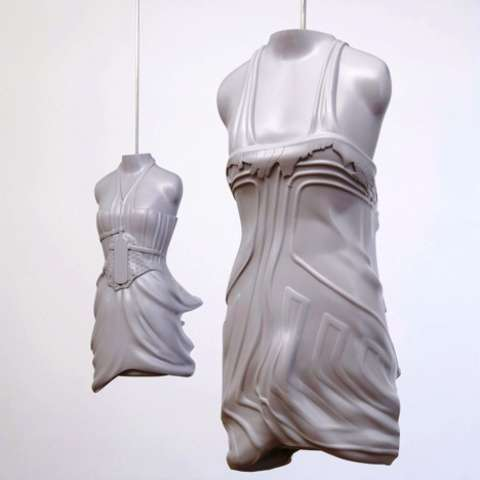 Designer Dress Sculptures