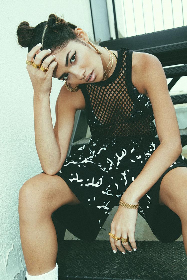 Rebellious Feminine Streetwear