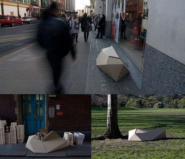 Homeless Cocoon Shelters