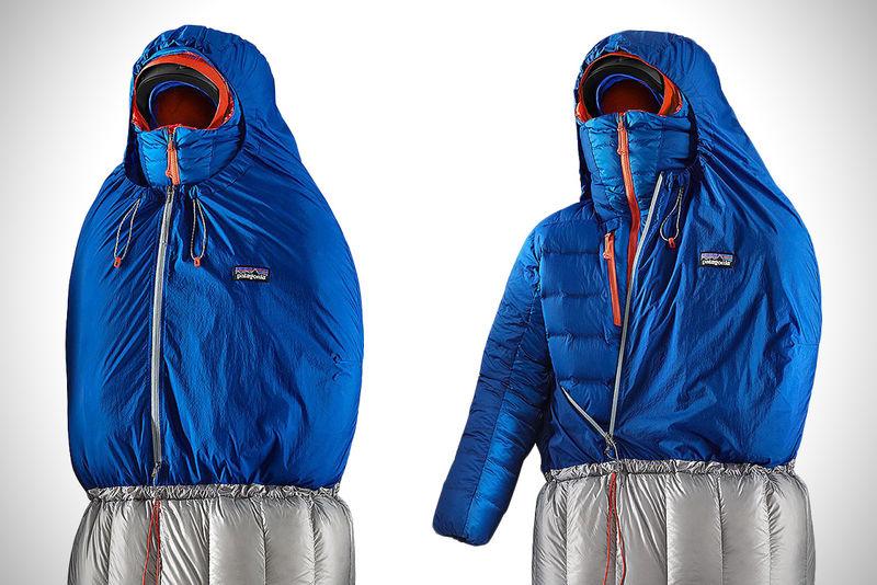 Jacket-Accommodating Sleeping Bags : hybrid sleeping bag