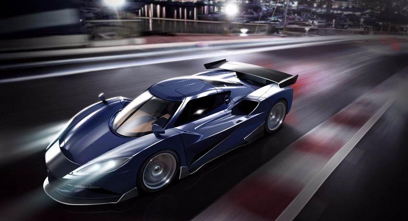 Fierce Hybrid Supercars