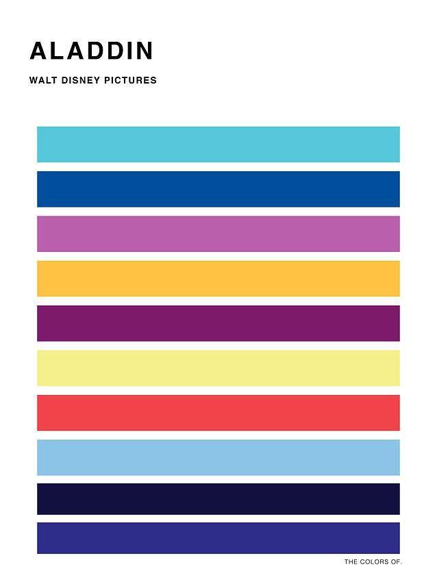 Color Palette Film Posters