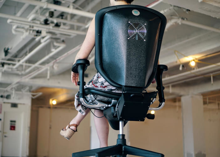 Temperature-Regulating Office Chairs