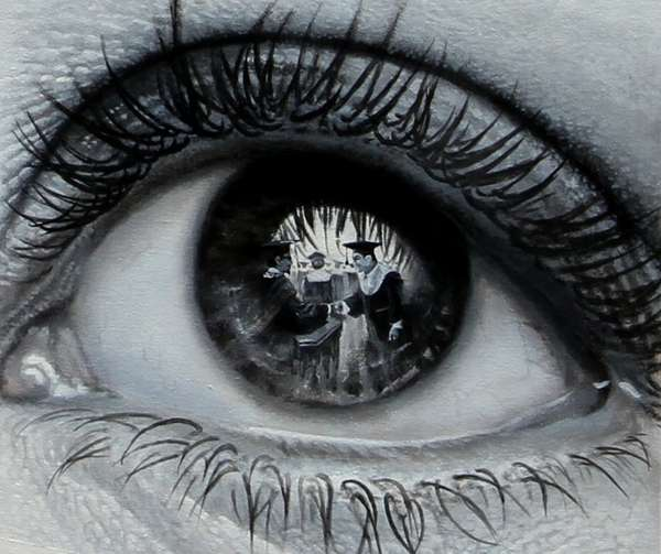 Reflective Eye Art