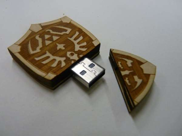 Hyrule Shield USB