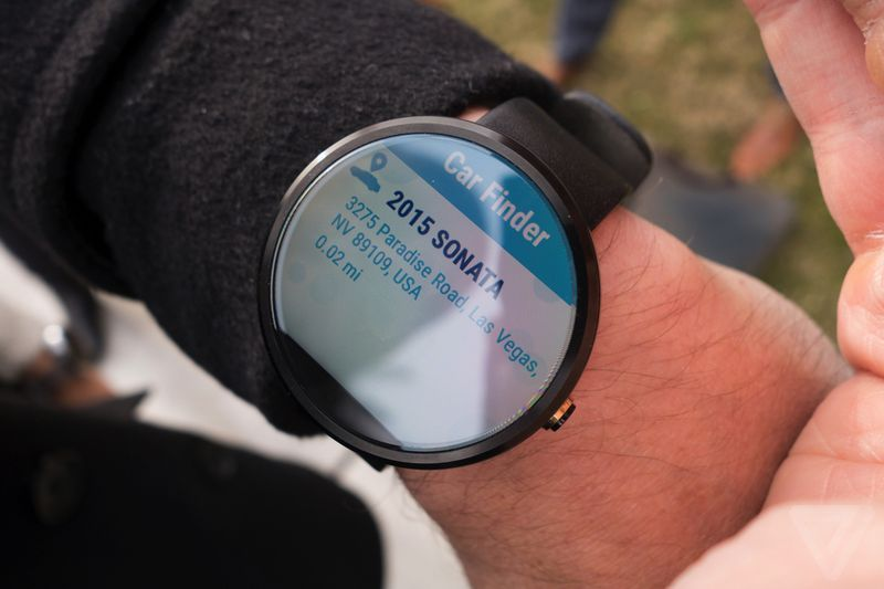 Car-Controlled Smartwatches