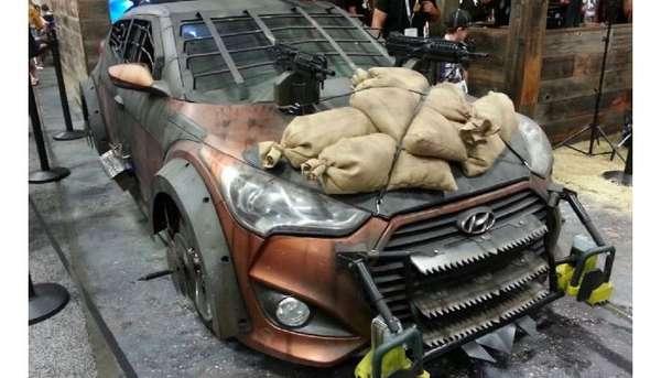 Apocalyptic Fighting Vehicles