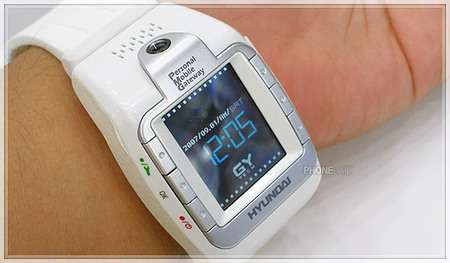 Phone, Camera, Bluetooth, MP3/Video Watch
