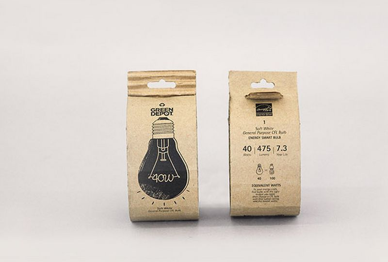 Eco-Friendly Light Packaging