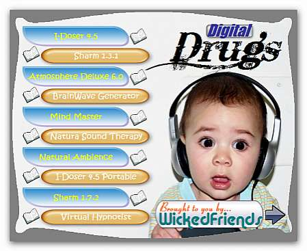 Drug Effects from Audio Files
