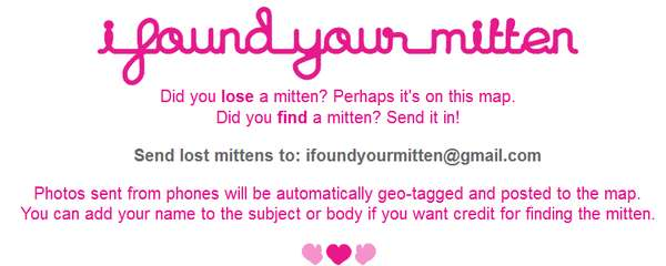 I Found Your Mitten