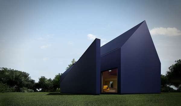Angular Blue Homes