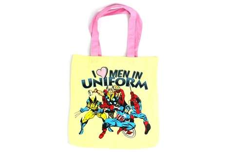 Superhero Canvas Carriers