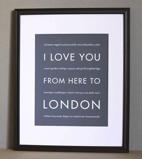 Long-Distance Endearment Posters