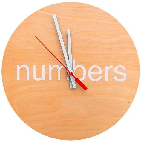 i need numbers clock
