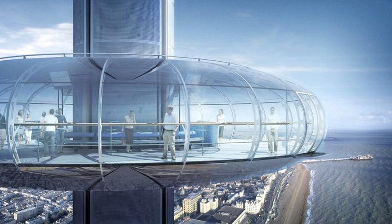 Aerodynamic Pod Towers