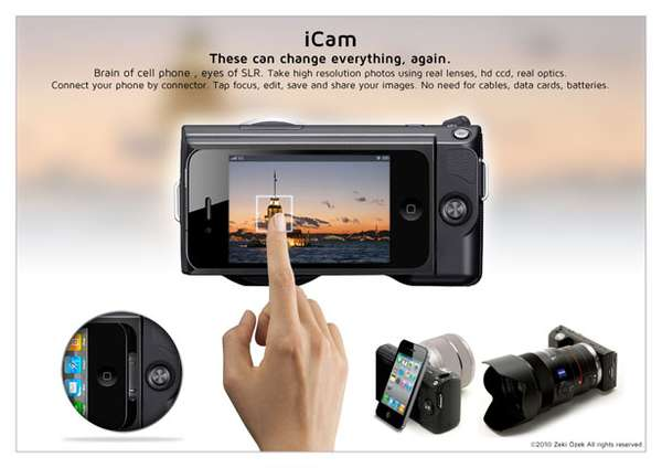 iPhone-Integrated SLRs