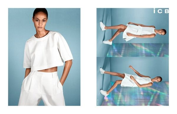 Holographic-Inspired Fashion Ads