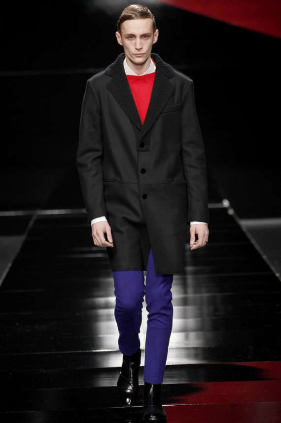 Subdued Geometric Menswear