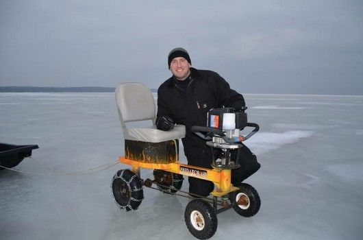 Ice Fishing Go Karts Ice Auger Machine