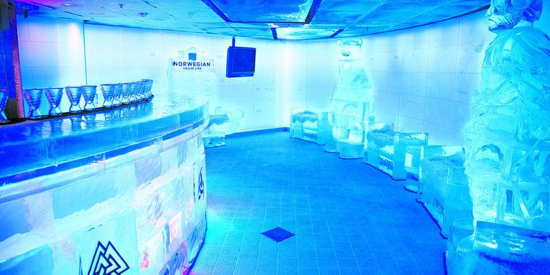 Cruise Ship Ice Bars
