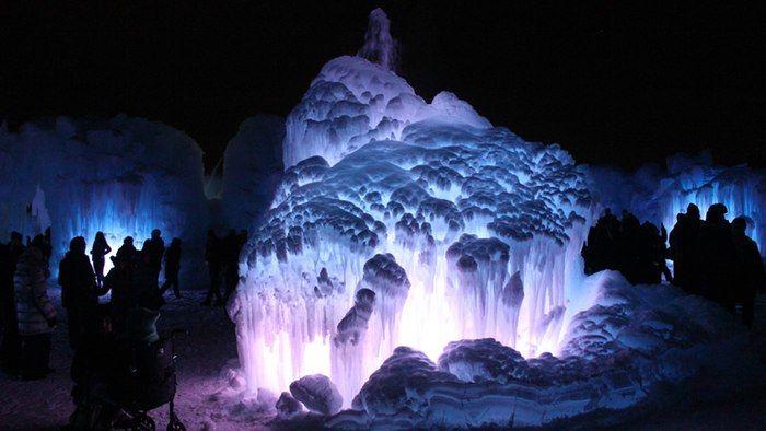 Monumental Ice Castles