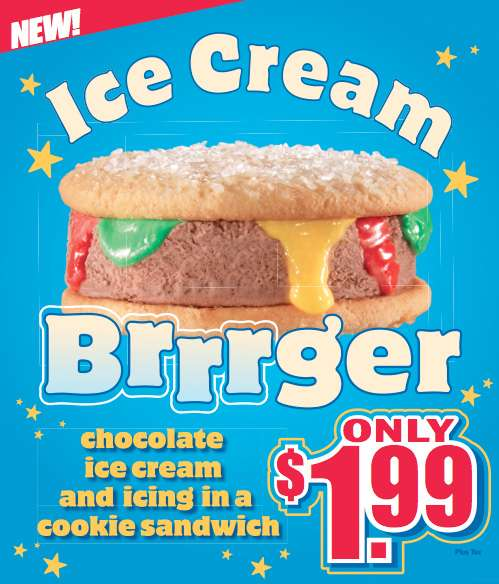 ice cream brrrger